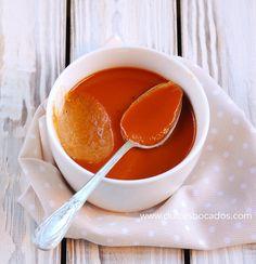 Crema de caramelo (toffee) -  Toffee custard
