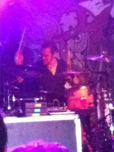 Adrian Erlandsson on Drums