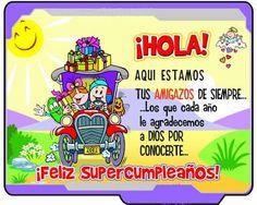 Spanish Birthday Wishes, Happy Birthday Cakes, Special Events, Memes, Places, Google, Mariana, Happy Birthday Funny, Happy Birthday Little Brother