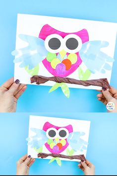 Bobble Head Paper Owl Craft Fun Diy Crafts diy fun crafts for 2 year olds Autumn Crafts, Paper Crafts For Kids, Crafts For Kids To Make, Art For Kids, Arts And Crafts, Kids Diy, Owl Crafts Kids, Elephant Crafts, Christmas Crafts