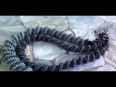 Spiral Path Necklace ~ Seed Bead Tutorials