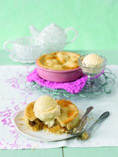Mini Apple Cakes aus dem Buch von Ruth Moschner's Backen für Angeber