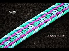 LADY TULIP BRACELET HOOK ONLY DESIGN TUTORIAL - YouTube