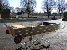 Model 385 Aluminium boat Barque de pêche
