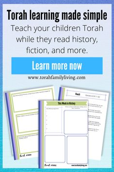 What if you could teach Torah while your children were reading history or fiction? With Torah Learning Made Simple, there's no need for confusion on what or how when it comes to your children's spiritual education. You can be confidently teaching your children Torah this week.Act quickly to get your school year off to a great start. Torah Learning Made Simple will only be available until August 31st. Then it goes away. Creative Writing Prompts, In Writing, Old Testament Bible, Child Teaching, Sunday School Teacher, Bible Translations, Bible Activities, School Subjects, Torah