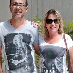 Casal Diboa #redfeatherlovers no domingão dos pais.
