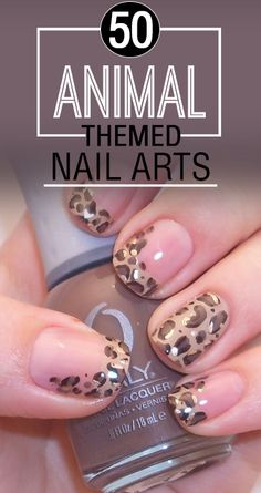 There are many techniques which you can use to get animal themed nail art like themed nail art stickers, nail wraps, water decals or 3d stick ons. All of these are easily available in the market these days.