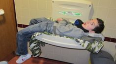 Ever Wonder How Families With Disabled Children Handle Everyday - Disabled changing table