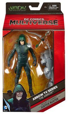 Amazon.com: DC Comics Multiverse Green Arrow Action Figure: Toys & Games