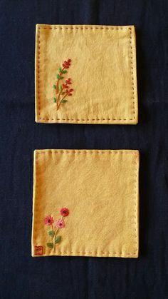 많은 분들이 잔받침을 참 좋아 하시더군요 작지만 깔끔하고 예뻐서 그런가봐요 하지만.. 쉽게 보면 안된답... Hand Embroidery Projects, Embroidery Works, Cute Embroidery, Flower Embroidery Designs, Embroidery Motifs, Learn Embroidery, Japanese Embroidery, Sewing Hacks, Sewing Projects