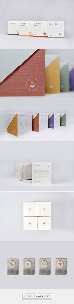 Evripos Tea Packaging https://www.behance.net/gallery/50185289/Evripos-Tea-Packaging?