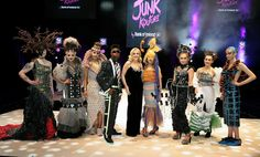 Junk Kouture fashion show final takes place tonight - see the incredible outfits competing for the top prize Creative Design, Finals, Fashion Show, The Incredibles, Outfits, Inspiration, Clothes, Beauty, Tops