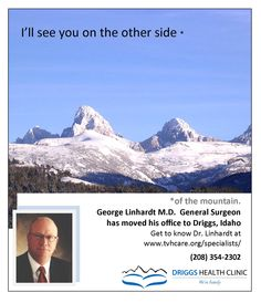 Dr. George Linhardt has moved his office to #Driggs.