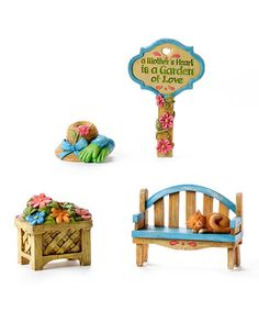 Look what I found on #zulily! Miniature World Mom Set #zulilyfinds