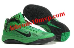 Nike Zoom Hyperfuse XDR 2010 Shoes Green/Black