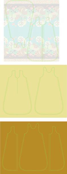 Der Schlafsack ist für Babies von ca. 6 – 14 Monate geeignet. Benutze luftdurchlässige Materialien wie Wolle oder Baumwolle. Ich...