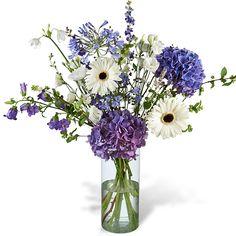 Boeket Vera XL met vaas New born bouquet Greenhouse Noordwijkerhout online te koop via http://www.greenhouseonline.nl/nl/topbloemen-shop