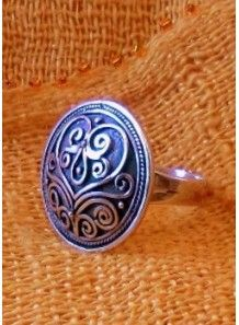 "Sterling Silver Ring ""Aisuluu"""