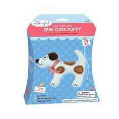 My Studio Girl Sew-Your-Own Sew Cute Puppy, Multicolor