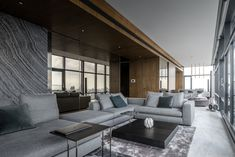 Like most high-end bachelor pads, this apartment is stylish, sophisticated and very refined in its design