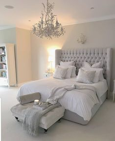 54 Modern Bedroom Design Trends and Ideas in 2019 Part bedroom ideas; bedroom ideas for small room; Room Ideas Bedroom, Bedroom Inspo, Home Decor Bedroom, Bedroom Furniture, Bed Room, Adult Bedroom Ideas, Diy Bedroom, Bedroom Sets, White Bedroom Decor
