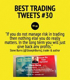 Best Trading Tweets #30 by Steve Burns