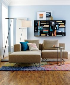 lotus natural corner chair in all furniture | CB2