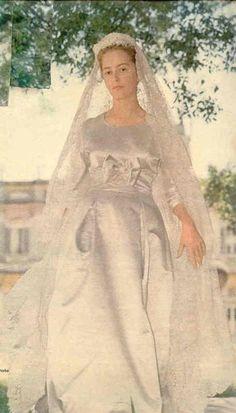 2 juillet 1959 ; mariage de Paola Ruffo di Calabria
