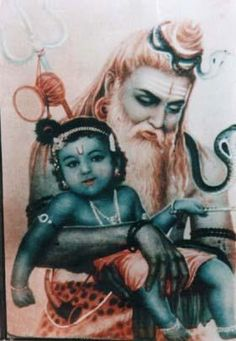 Shiv and Krishna