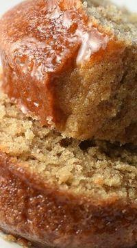 Simple Cinnamon Cake ~ Light and wonderful.
