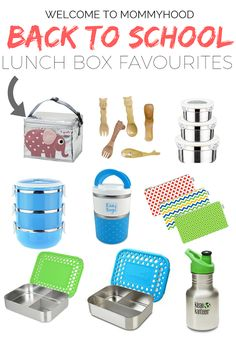Avoiding Plastics: Natural Living. Back to school: lunch box favourites by Welcome to Mommyhood #BackToSchool, #SchoolSupplies, #preschool, #kindergarten