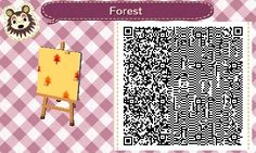 Forest (3 patterns) - Animal Crossing New Leaf QR Codes