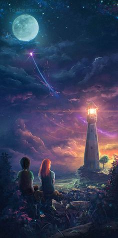 mr-dreamscape:  http://sylar113.deviantart.com/art/To-the-moon-477460063 What can we gain by sailing to the moon if we are not able to cross the abyss that separates us from ourselves? This is the most important of all voyages of discovery, and without it, all the rest are not only useless, but disastrous.-Thomas Merton