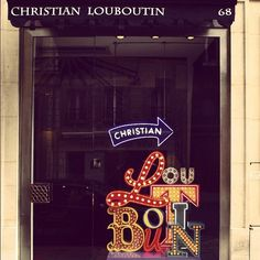 christian louboutin store front