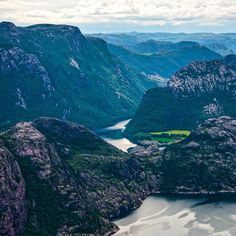 The fjords of Norway. Photo courtesy of brianthio on Instagram.