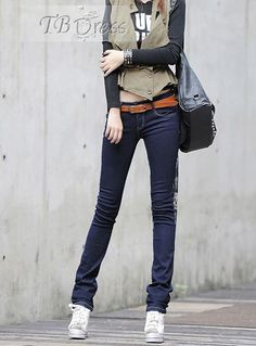Casual Korean Style Pencil Pants