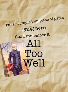 Another edit :) #AllTooWell