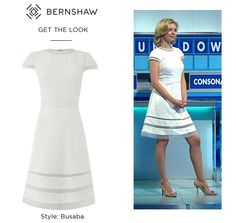 Get The Look, White Dress, London, Summer Dresses, Celebrities, How To Wear, Stuff To Buy, Shopping, Style