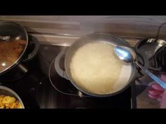 """STEP 4 》Cooking Persian Rice (abkesh) for """"ZERESHK POLO BA MORGH"""" 