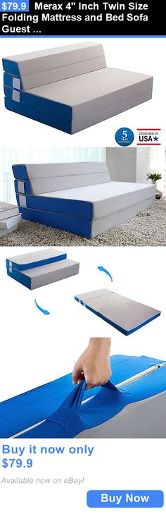 toptip bettsofa guest denim covered sofas 292 best 4 sofa beds images bedding merax inch twin size folding mattress and bed adjustable floor mat buy it now only 79 9