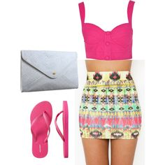 spring, created by jennifurr46 on Polyvore