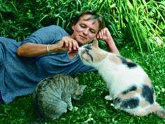 German writer Elke Heidenreich, photographed by Isolde Ohlbaum