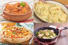 Un lunes más ya tenemos aquí nuestro menú semanal con platos muy ricos y calentitos para ponerte más fácil este lunes y esta semana que empieza ya de ya. ¡