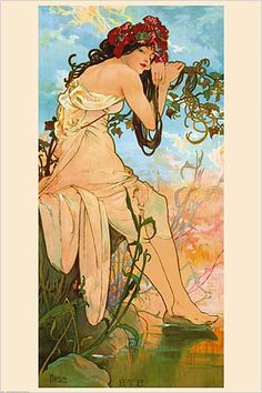 Ete, 1896 Alphonse Mucha