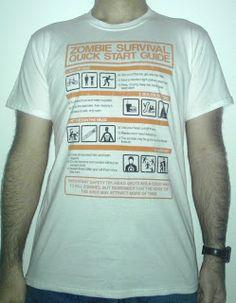 234 - #zombie #survival #quick #start #guide #come #sopravvivere ad un #attacco #morti #viventi #qwertee