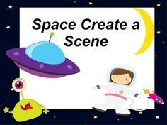 Kid will create different scenes with these fun mats.If the mat has a number 5 on it the kid will place 5 space items on the mat.