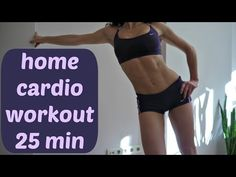 Cardio Workout No Rest 25 Min seems like it'd be great for someone just starting out with their cardio
