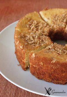 Gourmandise: Chiffon cake de paçoca