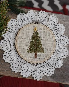 I Can, Stitching, Christmas Tree, Embroidery, Canning, Holiday Decor, Handmade, Gifts, Instagram