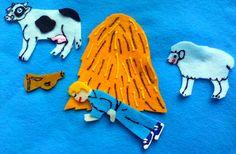 LITTLE BOY BLUE Flannel Board Felt Board Story Set with Freebies. $11.00, via Etsy.